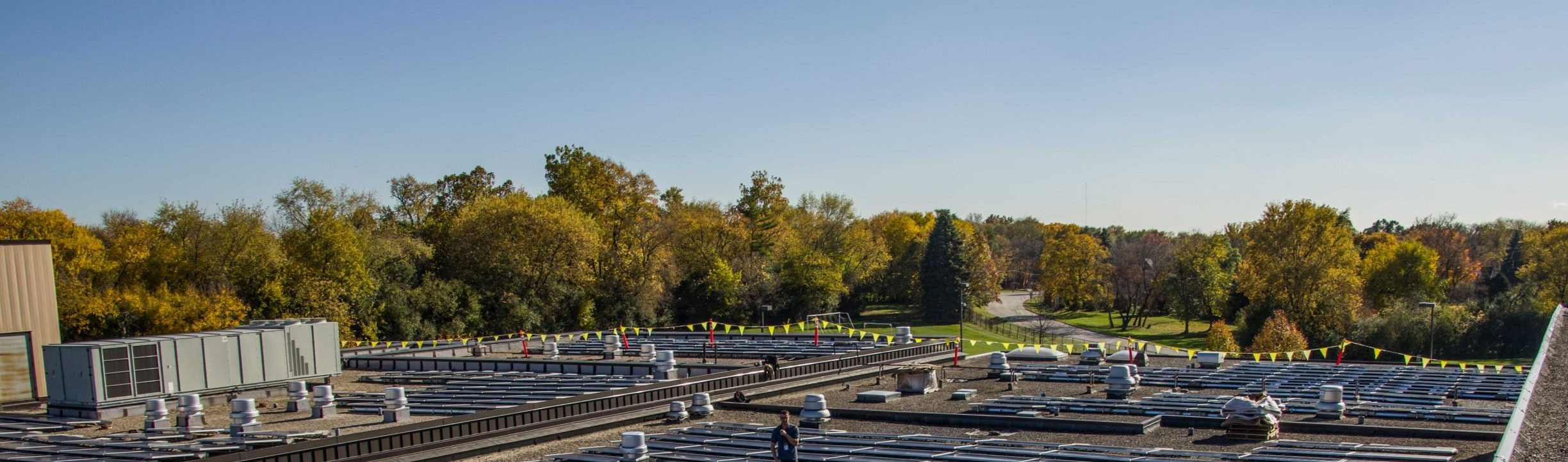 LARGEST SOLAR ARRAY ON A SCHOOL IN ILLINOIS